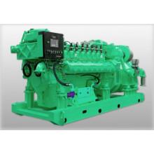 Grupo electrógeno de gas funciona en GNC, GNL, GLP, biogás