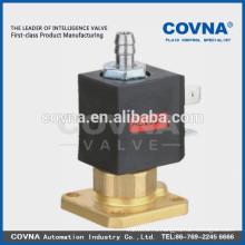 3way электромагнитный клапан прямого действия, вода, воздух, масляная латунь, фланец, кронштейн, малая бытовая техника. Нормальный открытый электромагнитный клапан