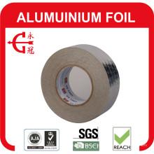 Aluminiumfolienband mit Luftschlauch abdichten