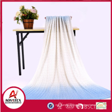 100% knitted acrylic soft blanket for baby