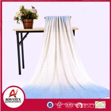 Cobertor macio acrílico tricotado 100% para o bebê