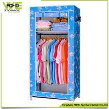 Gabinete de almacenamiento plegable del dormitorio Armarios baratos del descuento pequeño