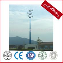 33kv 69kv GSM torre de acero de comunicación