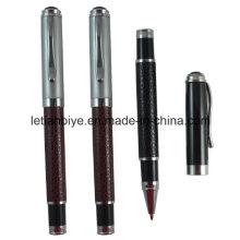 Kostenlose Proben Metall Leder Gel Ink Pen (LT-D017)