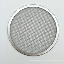 Edelstahl 20 10 5 3 1 Mikron Siebfilterscheibe