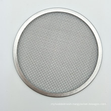 Stainless steel 20 10 5 3 1 micron wire mesh filter screen disc