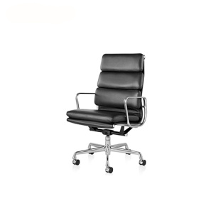 Aluminium Soft Pad Group Executive Lounge Chair