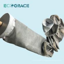 Sac de traitement de poussière en fibre de verre résistant aux acides