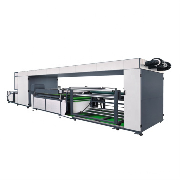 Single Color Roll to Roll Non Woven Automatic Screen Printing Machine