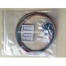 LC conector 0.9mm 2.0mm 3.0 milímetros singlemode multimodo fibra ótica pigtail