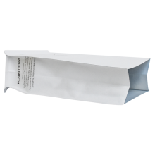 Food Grade Packing white Kraft shopping Bag