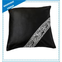 Cojín de la decoración del satén de la materia textil casera