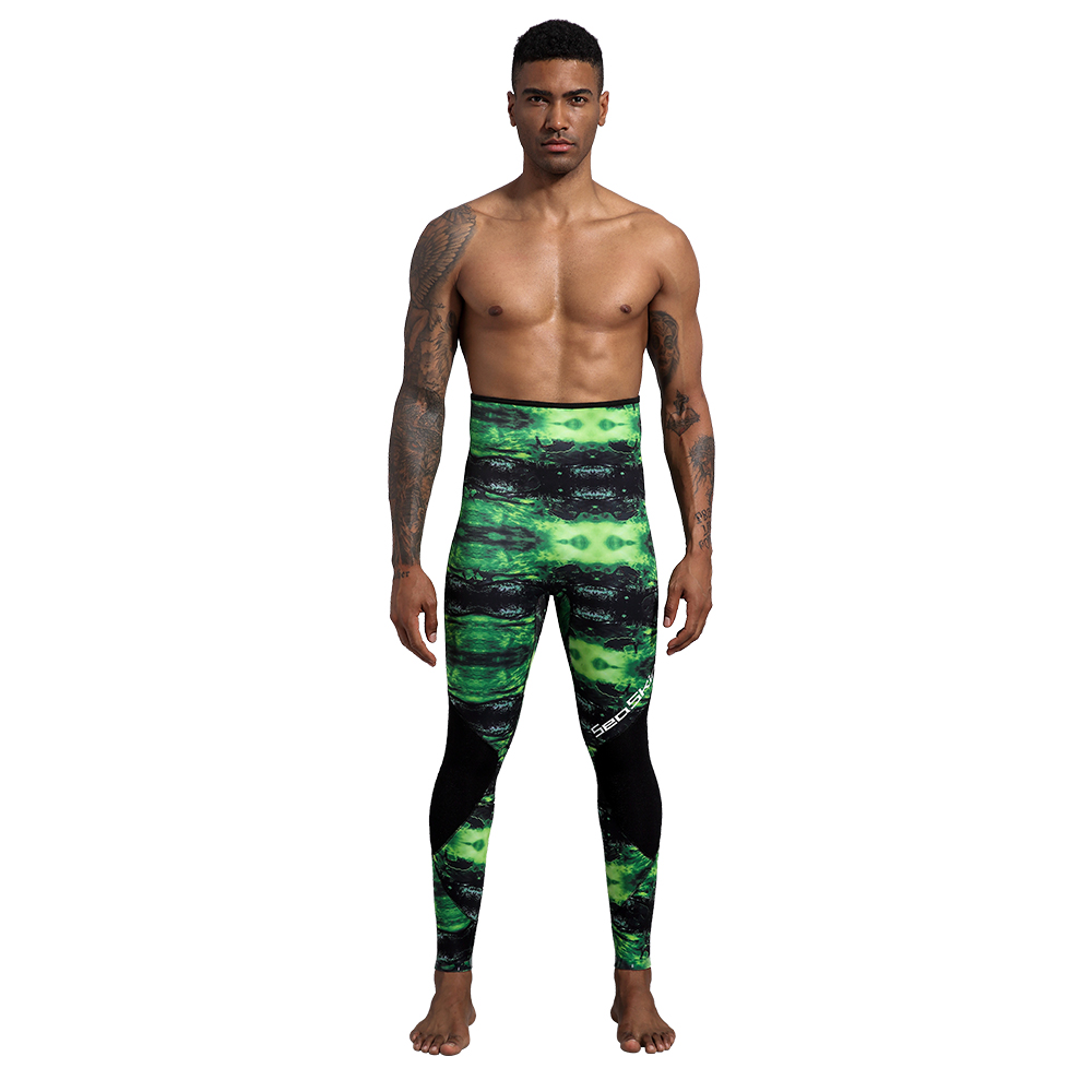 Seaskin Two Pieces Camo Spearfishing Suit