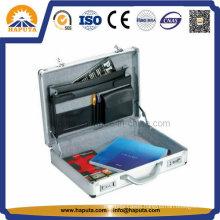 Hard Carry Laptop Briefcase Attache Case with Shoulder Strap