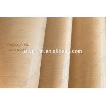Porous fabric teflon coated fiberglass fabric with heat resistance