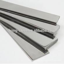 precio de fábrica de la barra plana de acero inoxidable laminado en caliente 304