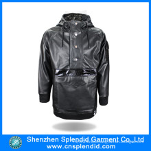 Guangdong Factory Outdoor Warm Fleece Black Jacket with High Quality