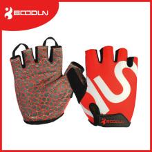 Silicon Printing Racing Radfahren Half Finger Bike Handschuh