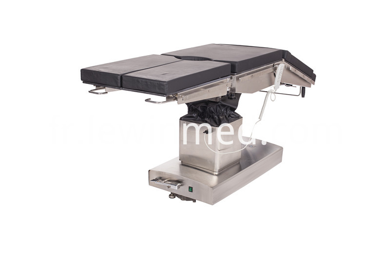 Medical electric operation bed