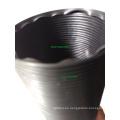 Tubo Flexible Plástico 3 '' ID 90cm Longitud Extendida Negro Universal