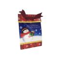 Подгонянная коробка рециркулируют бумажную конфету,115*76*168 мм