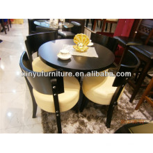 Modern dining room table and chair set XDW1008