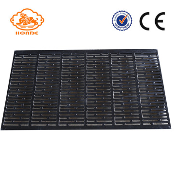 Espessamento de ferro fundido Farrowing Crate Floor For Livestock