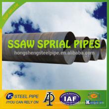 Tubulação API 5L SSAW, tubulação de aço espiral de grande diâmetro