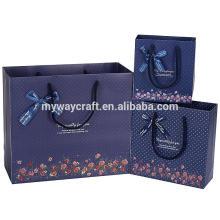 Sac en papier de haute qualité en Chine, sac en papier personnalisé, sac à provisions en papier à bas prix