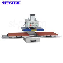Máquina de impressão automática da transferência térmica da camisa da imprensa térmica do calor de Suntek
