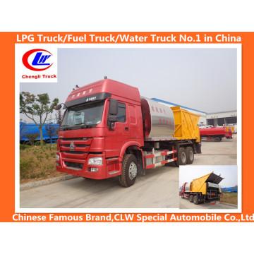 Caminhão da manutenção da estrada de Sinotruk HOWO 6X4