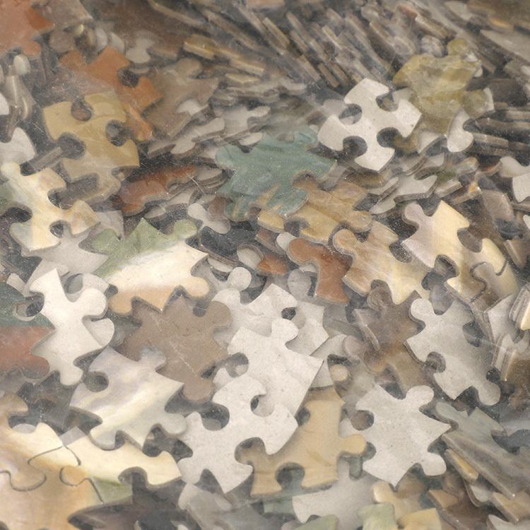 China Manufacturer OEM Custom Educational Toys DIY Customized Die-cut Puzzle