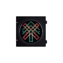 O sinal do diodo emissor de luz do veículo de 200mm 8 polegadas para e vai em linha reta