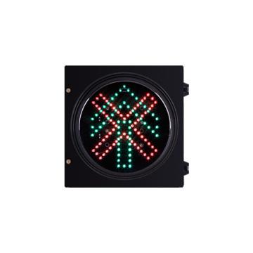 Le feu de signalisation du véhicule LED de 200mm 8 pouces arrêter et aller tout droit