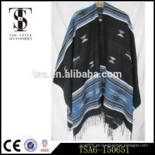 Maneras múltiples de gran tamaño para vestir acrílico pashmina bufanda chal