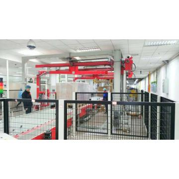 Advanced panel pallet packaging solution for warehouse