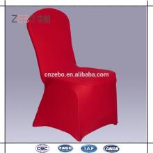 As mais vendidas coloridas baratas Spandex tecido Fancy Chair Covers para Casamento