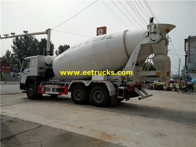5ton Cement Mixer Trucks