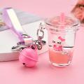 Porte-clés liquide Kitty Cat
