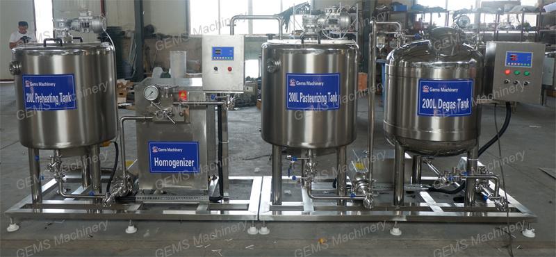 milk production line3