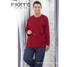 Miorre Men's 2017 Season Big Size Cotton Texture Pajamas Set