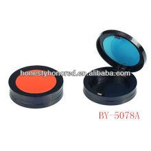 2013 novo caso compacto plástico do pó do cosmético para a embalagem cosmética