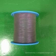 высокая светлая радужная светоотражающая нить для вязания свитера