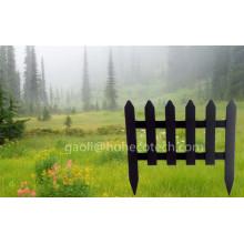 Nuevo diseño Patio WPC valla de jardín Compuesto de madera cercado de granja
