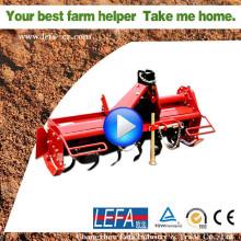 Rotavator agrícola 3 punto Pto Tractor Mini rotatorio Tiller