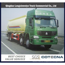 Caminhão de petroleiro do caminhão de petroleiro de HOWO 30000L / HOWO 8X4