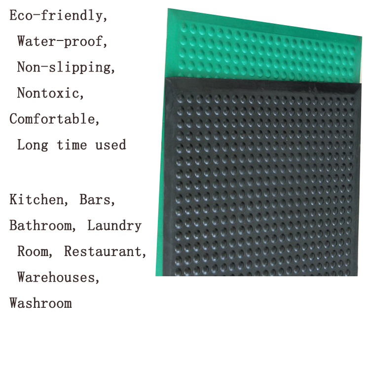 Anti-fatigue Rubber Kitchen Mat