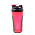 600ml Xyt Private Plastic Plastic Shaker Protector com bola de aço inoxidável