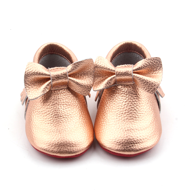 Baby moccasin shoes girl