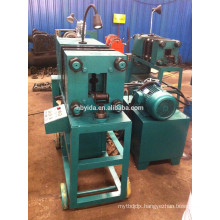 Cost effective automatic rebar end upset forging machine